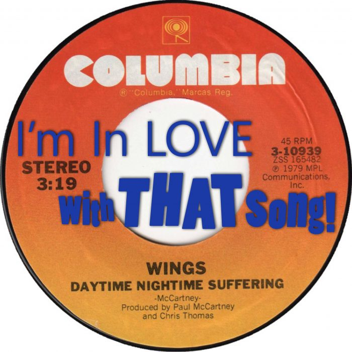 "Paul McCartney & Wings – ""Daytime Nighttime Suffering"""
