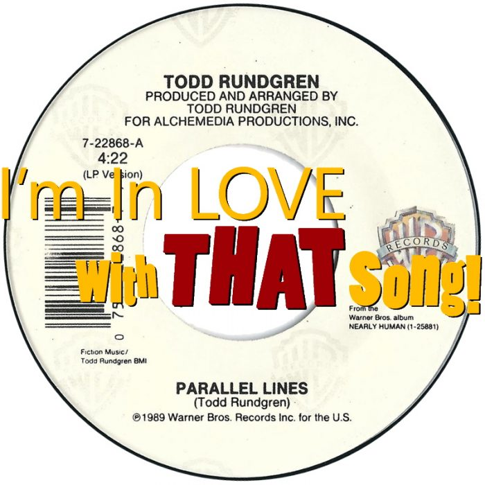 """Todd Rundgren – """"Parallel Lines"""""""