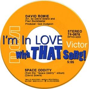 """David Bowie – """"Space Oddity"""""""